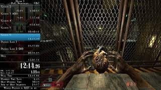 Doom 3 - Resurrection of Evil Nightmare speedrun in 0:30:19 (time without loads)