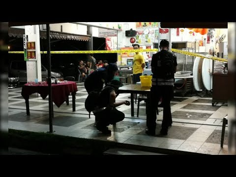 Man shoots trio at Kuching restaurant over girlfriend