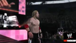 WWE 12. Edge and Christian Entrance