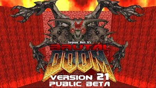 Brutal Doom V21 OPEN BETA Trailer