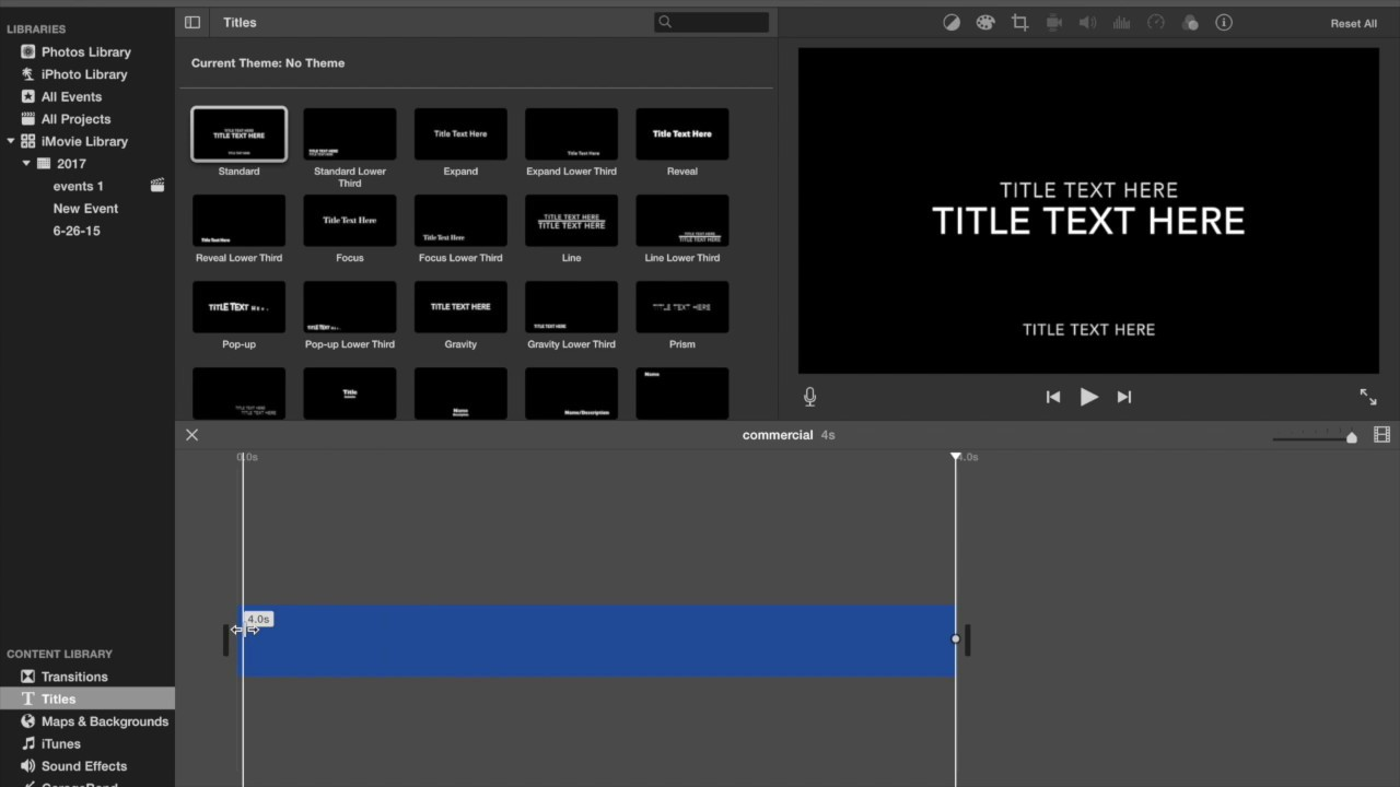 How To Make Your iMovie Titles Not Fade In and Out (LATEST TUTORIAL)