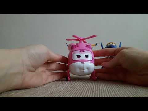 Harika Kanatlar Jett Dizzy Donnie Jerome robota dönüşüyor