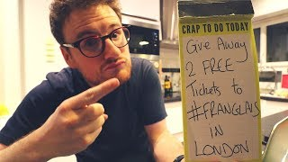 FREE TICKETS To My Show in London - Being a Comedian in Paris #21