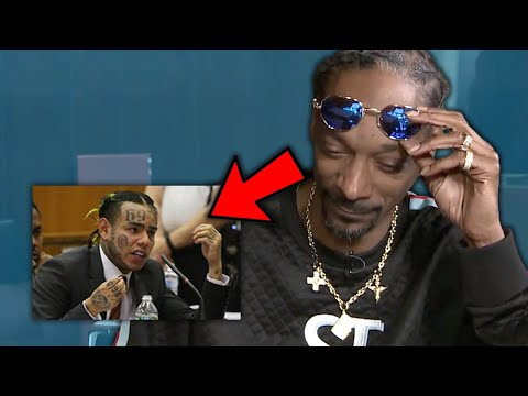 Rappers React to 6ix9ine Snitching In Court