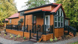 Amazing Beautiful Park Model For Sale From Hope Valley Resort | Tiny House Big Living