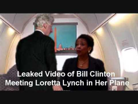 Bill clinton loretta lynch plane