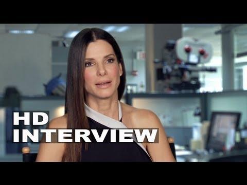 The Heat: Sandra Bullock On Set Interview