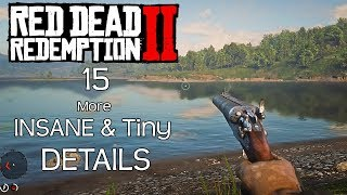 15 More INSANE & Tiny Details in Red Dead Redemption 2 (RDR 2) Part 2