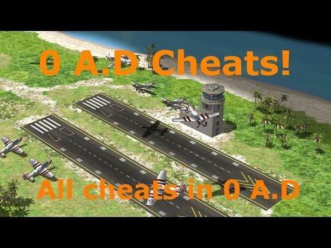 0 A.D All Cheats!