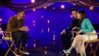 Download WILL SMITH Interviews Aladdin's Naomi Scott & Mena Massoud