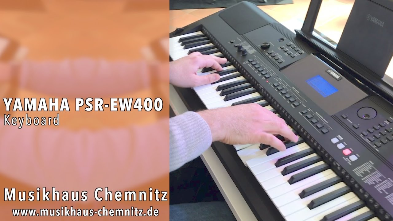 yamaha psr ew 400 demo musikhaus chemnitz youtube. Black Bedroom Furniture Sets. Home Design Ideas