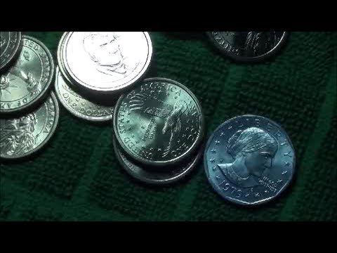 First Time Coin Roll Hunting DOLLAR COINS, 1979 S Susan B. Anthony PROOF COIN?