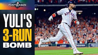Yuli Gurriel launches HUGE 3-run home run to put Astros ahead early in ALCS Game 6 vs Yankees