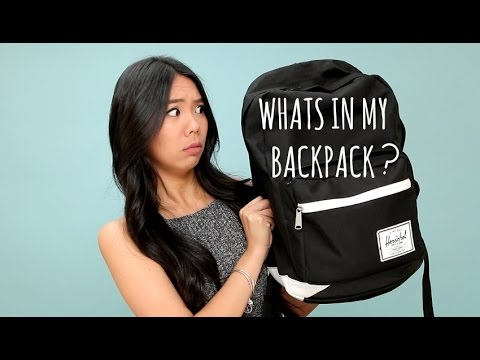 What's In My Backpack?! UCLA College Student Edition!
