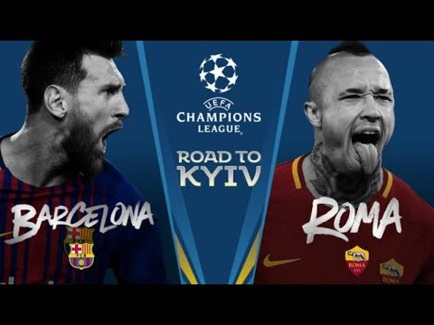 ROMA VS BARCELONA UCL WATCHALONG LIVE STREAM!