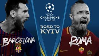 ROMA VS BARCELONA UCL WATCHALONG LIVE STREAM!