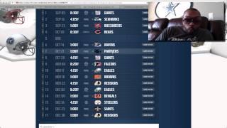 2012 Dallas Cowboys schedule released