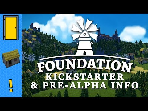 Foundation - Kickstarter & Pre-Alpha Info - Organic Medieval City Builder Game