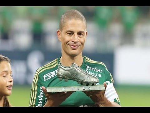 Gols, Palmeiras 99 5 x 3 Amigos do Alex - Amistoso Despedida Alex 28/03/2015