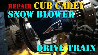 Repairing Cub Cadet Snow blower Drive Train