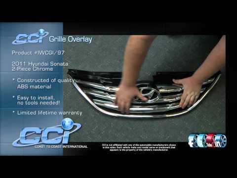 Hyundai Sonata CCI Grille Overlay