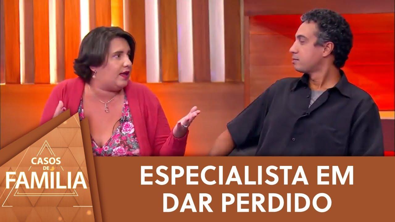"""Marido de convidada é especialista em """"dar perdido""""   Casos de Família (27/07/21)"""
