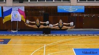 Черлидинг - Чемпионат Украины 2014г