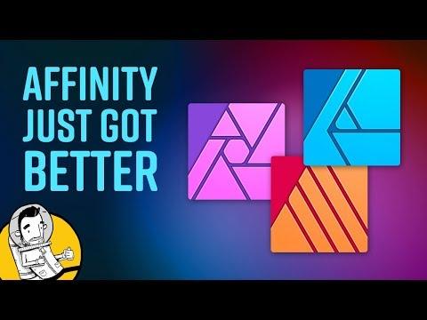 Affinity Designer & Photo 1.7 Updates (Affinity Publisher Too)