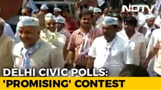 MCD Polls: To Counter AAP Offer, What Congress, BJP Think Will Woo Voters