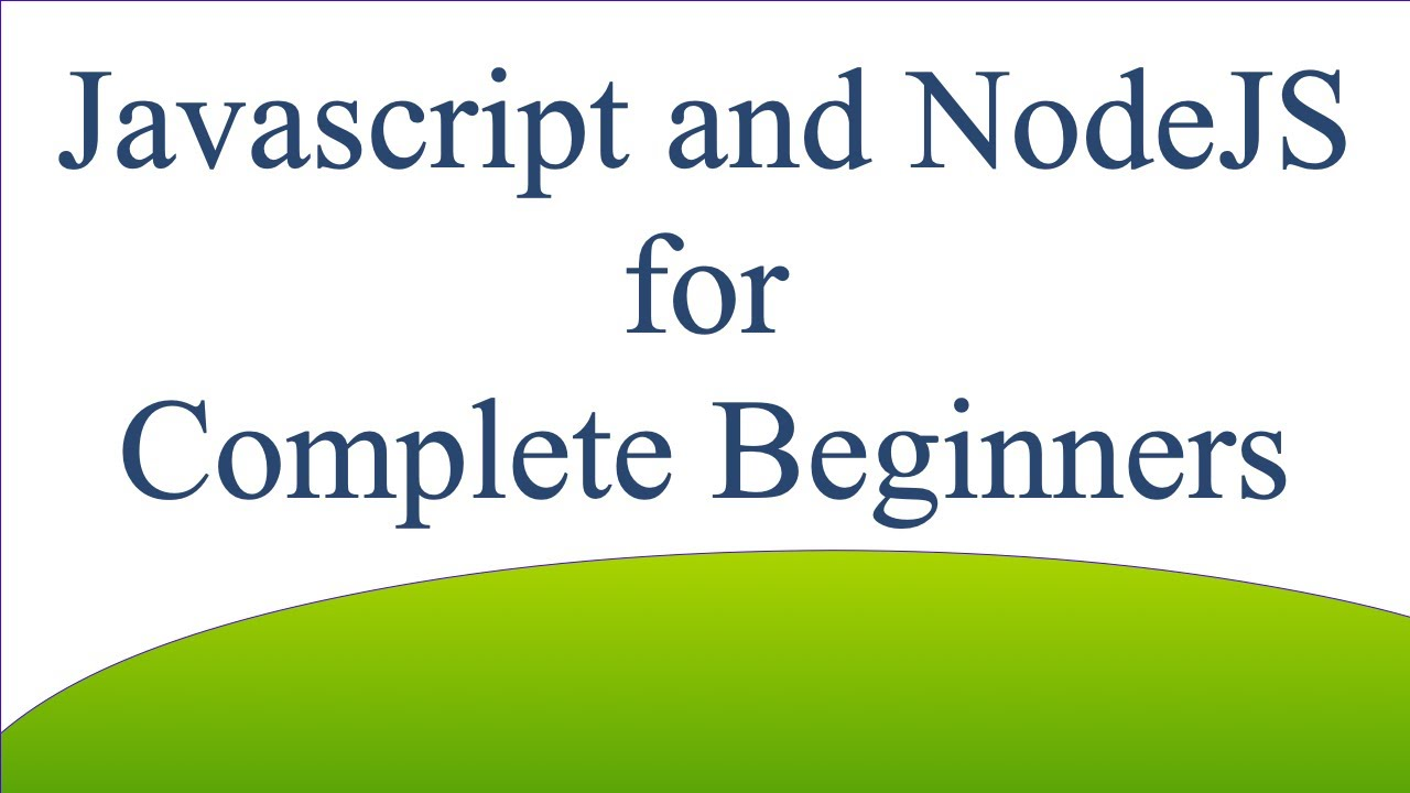 Function Definitions and Expressions: Javascript and NodeJS for Complete Beginners 029