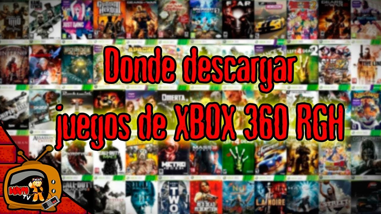 Donde Descargar Juegos De Xbox 360 Con Chip Rgh Youtube