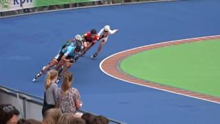 Men relay final (2016 European Championships Inline Speedskating)
