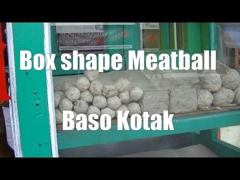 Jakarta Street Food 257 Box Shape Meatball Baso Kotak