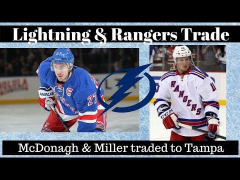 NHL Trade Talk - Rangers Trade McDonagh to Lightning