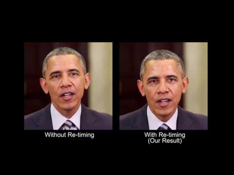 Synthesizing Obama: Learning Lip Sync from Audio