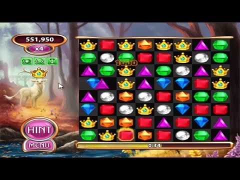 Bejeweled Blitz Trying out the Crown Jewel