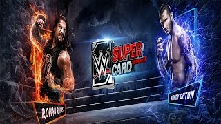 Андроид игры #20.WWE SUPERCARD / Игра на меня обиделась и разозлилась :(
