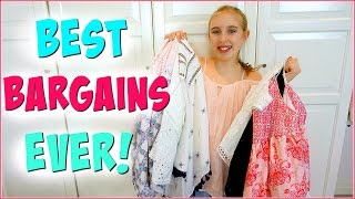 Shopping HAUL 2016 - Summer Clothing for Teens and Tweens