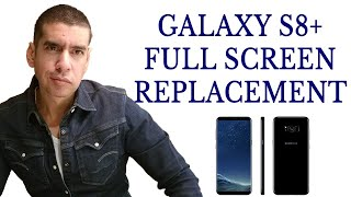 Samsung Galaxy S8+ Plus Cracked Screen Repair Replacement