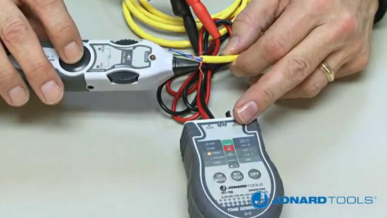 Jonard Tools Multi Function Cable Tester Toner Probe Kit Tetp Wiring And 900 Youtube