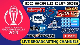 ICC World Cup 2019 - Live T.V Channel & Streaming & Mobile Apps 🔥