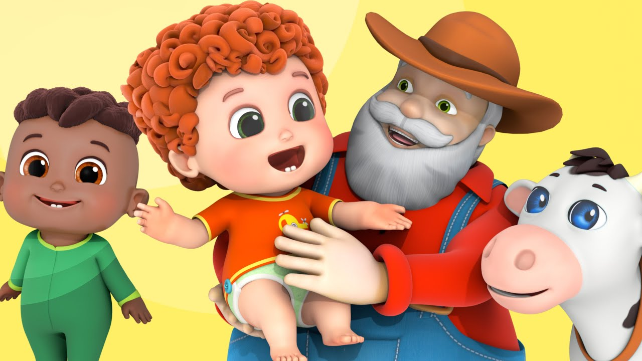 Old MacDonald Had A Farm, ABC Song   Animal Sounds Song + More Nursery Rhymes & Kids Songs