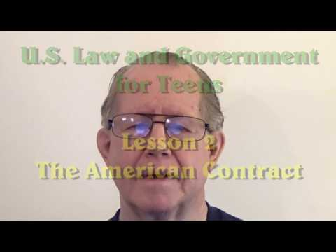 Unizor - US Law - 2  American Contract