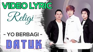 Datuk Band - Yo Berbagi (Official Video Lyrics) #lirik