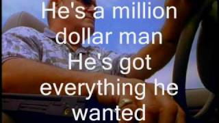 Kutless - Million Dollar Man (lyrics)