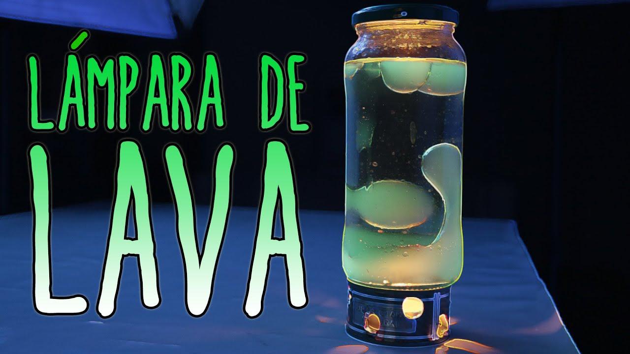 Cmo hacer una lmpara de lava Experimentos Caseros