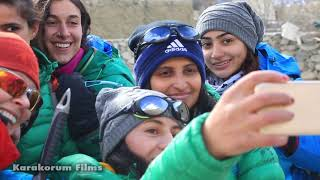 3Nations 7Girls Winter Expedition In Pakistan \