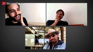 Marwan Kenzari, Matthias Schoenaerts & Luca Marinelli THE OLD GUARD video call interview