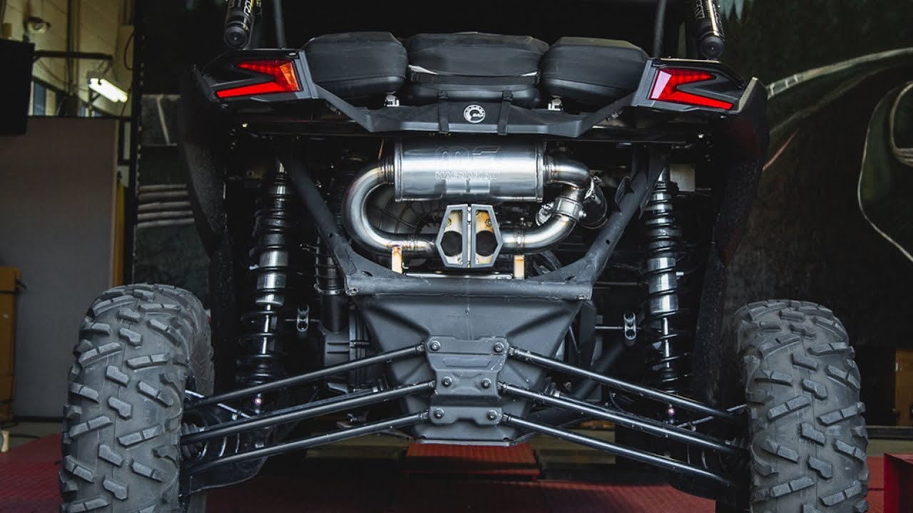 What is a Valvetronic Exhaust? Can-Am X3 Valved Muffler from Agency Power  Explained!