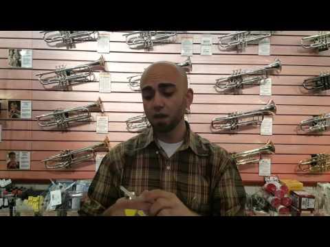 Trumpet - Maintaining a Clean Mouthpiece - Adam Robertson